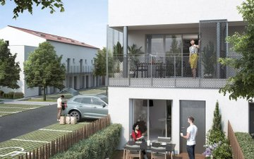 Toulouse Quartier Pavillonnaire Borderouge - immobilier neuf Toulouse