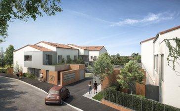 Toulouse Quartier Pavillonnaire Borderouge - immobilier neuf Toulouse
