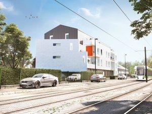 Nantes à 300 Mètres Du Tramway - immobilier neuf Nantes