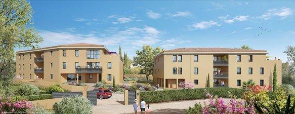 Aix-en-provence Quartier Pey-blanc - immobilier neuf Aix-en-provence