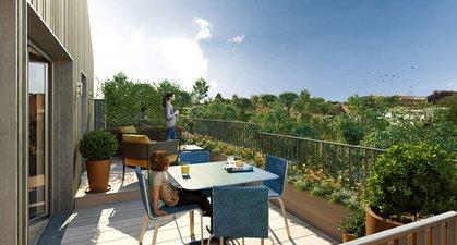 Noisy-le-grand éco-quartier île De La Marne - immobilier neuf Noisy-le-grand