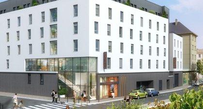 Caen Résidence étudiante Hypercentre - immobilier neuf Caen