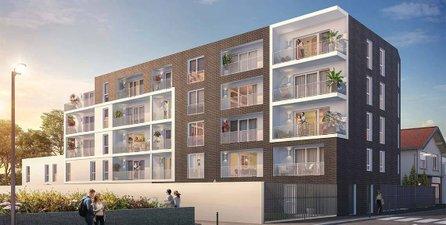 Nantes Quartier De La Gaudinière Proche Commodités - immobilier neuf Nantes