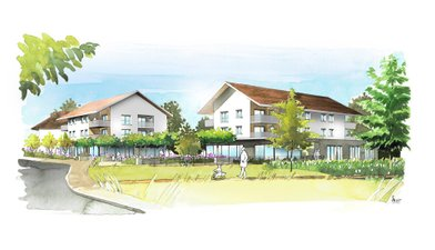 Sales En Plein Centre Du Village - immobilier neuf Sales
