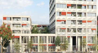 Lille éco-quartier Fives Cail - immobilier neuf Lille