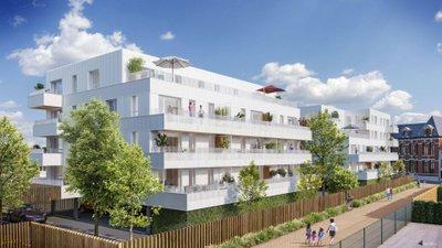 Lannoy Proche Mairie - immobilier neuf Lannoy