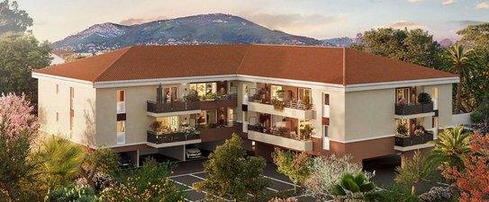 Toulon Quartier Résidentiel à L'est - immobilier neuf Toulon