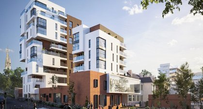 Rennes Proche Gare - immobilier neuf Rennes