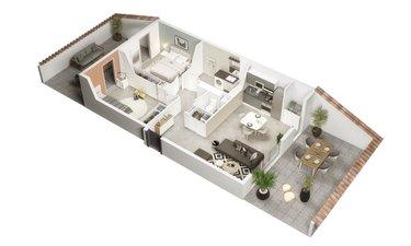 Le Millésime - immobilier neuf Castanet-tolosan