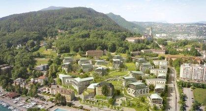 L'avant-scene  La Cantonade - immobilier neuf Annecy