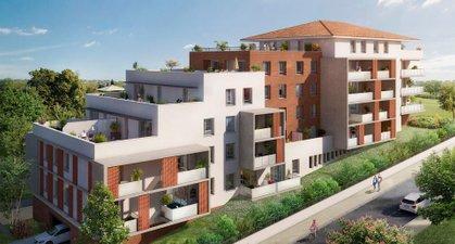 Toscani Bâtiment Nola - immobilier neuf Saint-orens-de-gameville