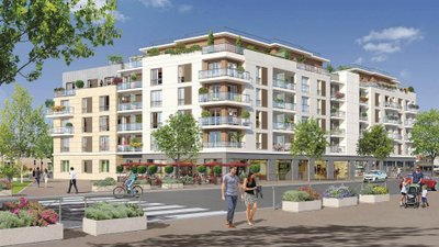 Place Des Arts - immobilier neuf Drancy