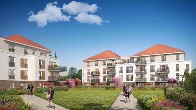 Les Jardins Des Retentis Ii - immobilier neuf Jouy-le-moutier