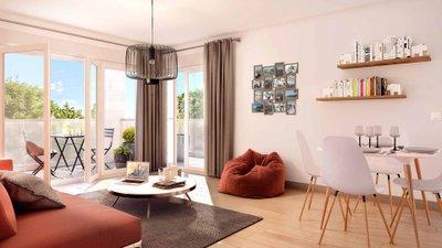 Villa D'alembert - immobilier neuf Le Blanc-mesnil