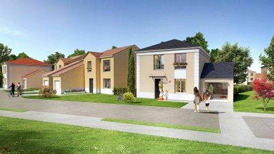 Domaine Des Chanterelles - immobilier neuf Bruyères-sur-oise