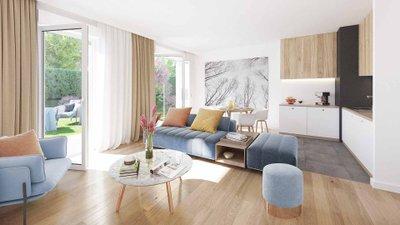 Les Jardins De Marie - immobilier neuf Fontainebleau