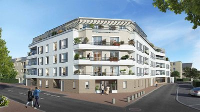 Le Chailly - Bail Réel Solidaire - immobilier neuf Chilly-mazarin