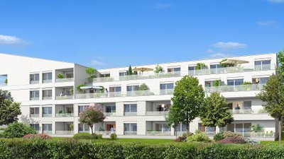 Patio Cyrano - immobilier neuf Toulouse