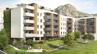 L'allée Verte - immobilier neuf Saint-martin-le-vinoux