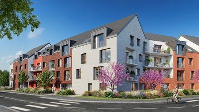 Le Vert Pré - immobilier neuf Lys-lez-lannoy