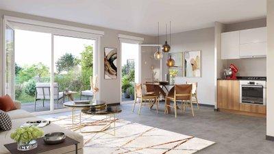 Reflets Jardin - immobilier neuf Dijon