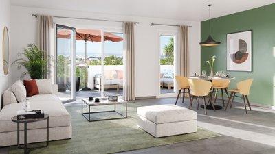 Coeur Garoutte - immobilier neuf Marseille