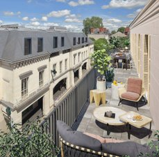 L'hotel Des Lettres - immobilier neuf Tours