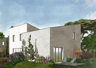 Organic - immobilier neuf Carbon-blanc