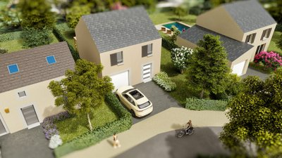 Le Clos Des Magnolias - immobilier neuf Gazeran