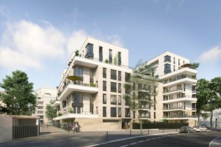Square Des Bateliers - immobilier neuf Clichy