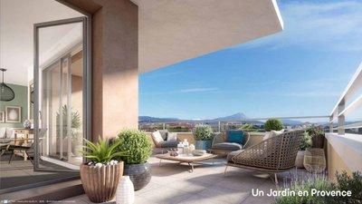 Un Jardin En Provence Ii - immobilier neuf Aix-en-provence