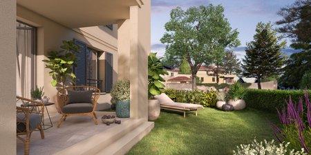 Un Jardin En Provence - immobilier neuf Aix-en-provence