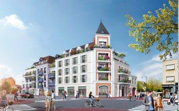 Villa Voie Romaine - immobilier neuf Le Blanc-mesnil