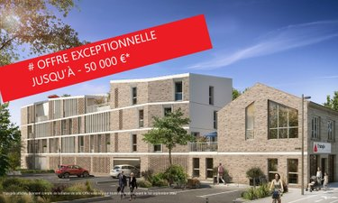Residence Barriere Rive Droite - immobilier neuf Bordeaux
