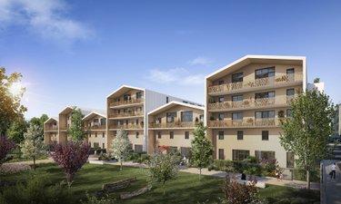 Résidence Eden Green - Carrere - immobilier neuf Villepinte