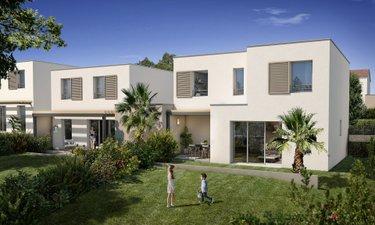Les Villas Du Domaine Sainte-victoire - immobilier neuf Meyreuil