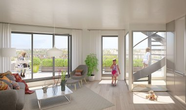 Les Terrasses Vertes - immobilier neuf Châtenay-malabry