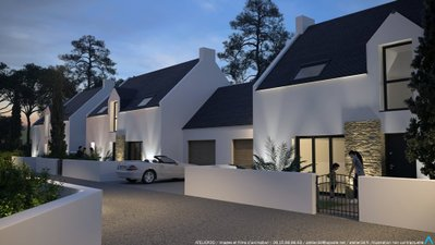 Beg Rohu - Les Villas De La Baie - immobilier neuf Saint-pierre-quiberon