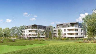 La Résidence Le Fairway - immobilier neuf Bezannes
