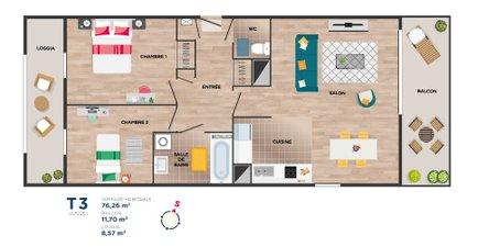 Garden Square (investissement Locatif Pls) - immobilier neuf Vitré