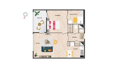 Couleur Café • Accession Coopérative - immobilier neuf Le Rheu