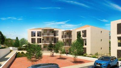 Terra Uva Ii Nue-propriété - immobilier neuf Le Castellet