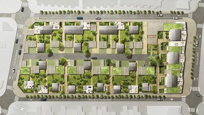 Urban Lodge - Les Appartements - immobilier neuf Beauzelle