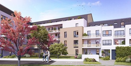Cours Lamartine (appartements) - immobilier neuf Nantes