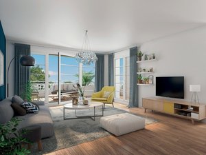 Cote Seine - immobilier neuf Colombes