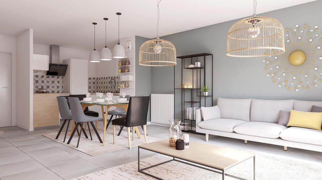 Appartements neufs Lys-lez-lannoy - Le Colysee