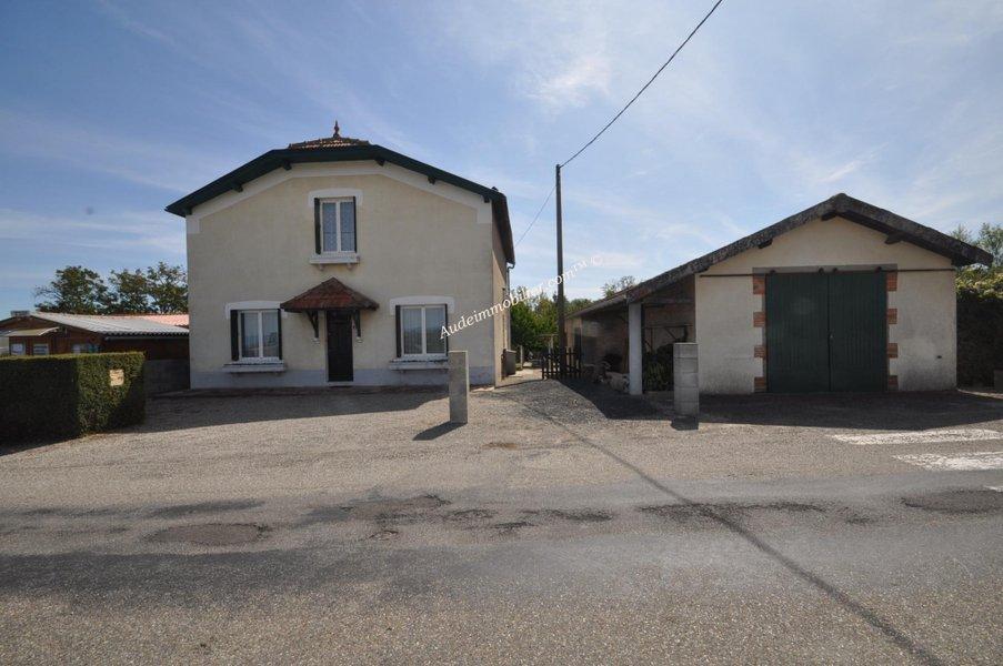 Maison neuve Belvèze-du-razès - Maison Avec Jardin,grand Garage Et Atelier à 15 Minutes De Mirepoix