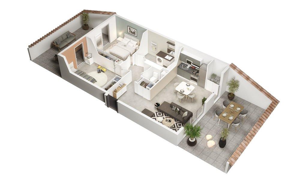 Appartements neufs Castanet-tolosan - Le Millésime