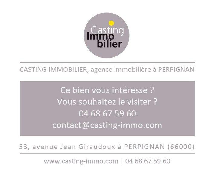 Appartement neuf Perpignan - Vente A Perpignan Centre, Appartement T4, 130m2 Sh, Terrasses 35m2, 265 000 € Casting Immobilier