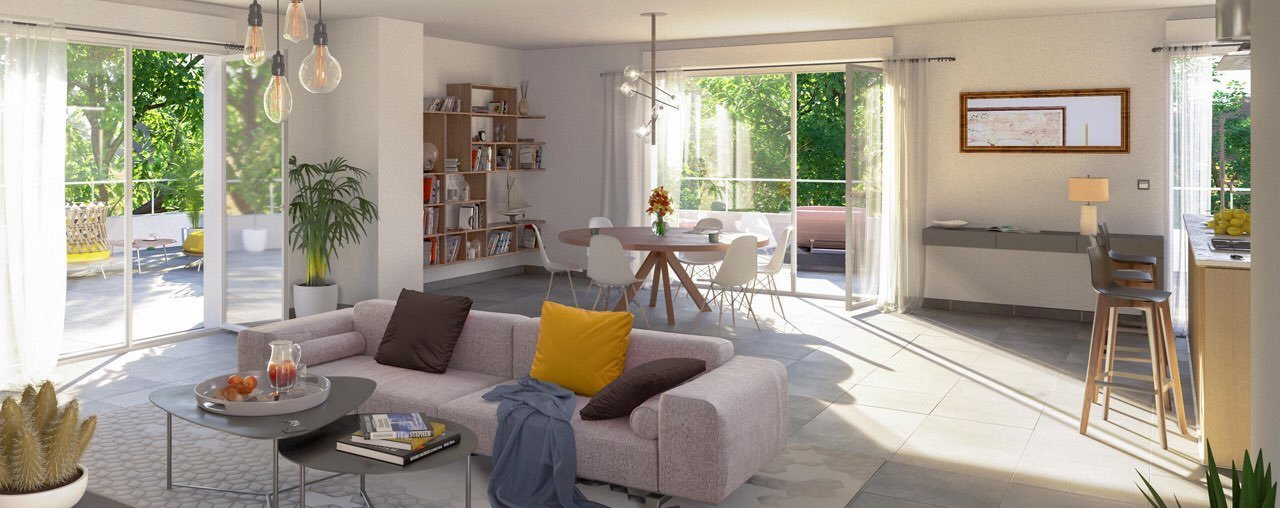 Appartement neuf Toulon - T3 Neuf Dernier Etage